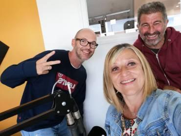Enregistrement d'une interview de Florence et Philippe BENS à la radio Océane de Lannion !